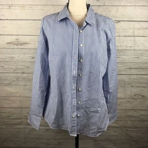 J. Crew Haberdashery Size Medium Womens Striped